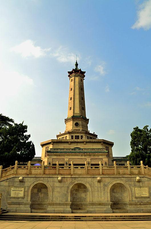 湖南长沙烈士公园纪念塔